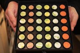Les chocolats de Pierre Marcolini, à Bruxelles.