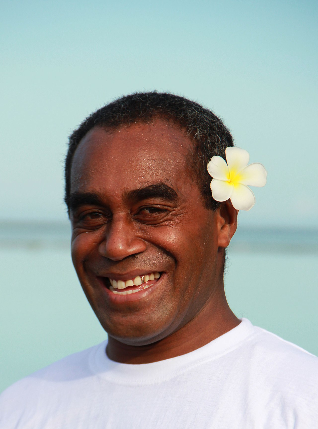 Fidji: Dites-le avec unefleur…
