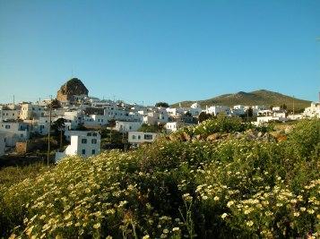 La ville de Chora, à Amorgos.