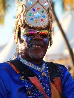 Pendant le carnival en Martinique.