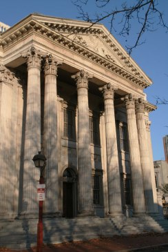 Une des premières banques du pays, à Philadelphie.
