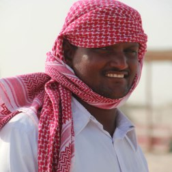Au Qatar, il est indispensable de se protéger du soleil et du sable.