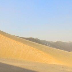 Le désert du Qatar, avec ses dunes impressionnantes.