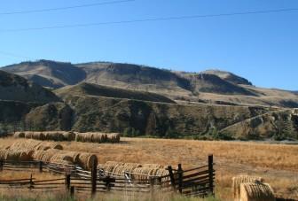 Dans le plateau de Thomson, on croise de nombreux ranchs