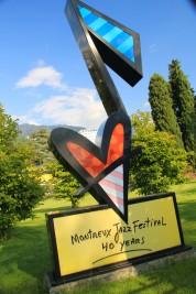 Festival de jazz de Montreux, en Suisse.