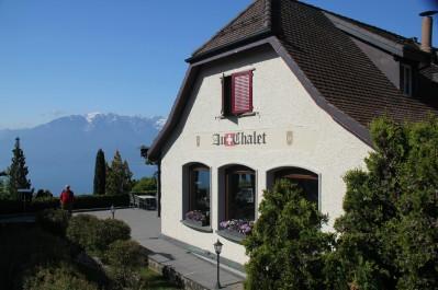 Le restaurant Au Chalet, situé à Chardonne (Suisse)