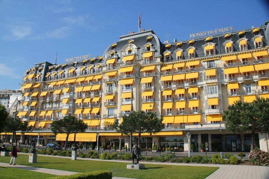 Le Montreux Palace, à Montreux.
