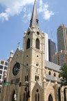 Église près de la Tour Hancock (Chicago)