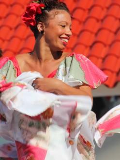 Une danseuse de salsa, à Cuba.