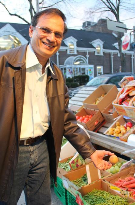 Mon guide dans le quartier de Little India, à Toronto.