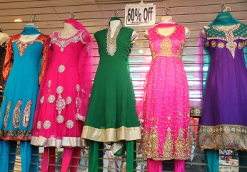 De quoi s'habiller à l'indienne, à Toronto...