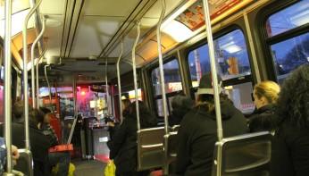 Le tramway, à Toronto.