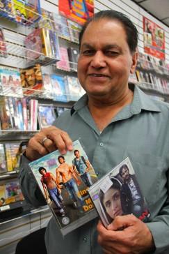 Dans une boutique de vidéos de Little India. (Toronto)