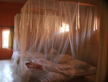 chambre du Feynan Ecolodge, en Jordanie.