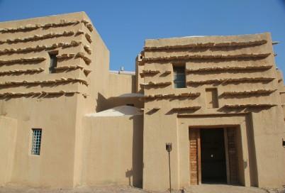 L'entrée du Feynan Ecolodge, en Jordanie.