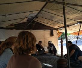 Notre rencontre avec les Bédouins, en Jordanie.