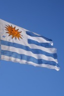 Le drapeau de l'Uruguay