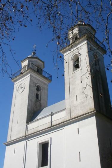 l'église Saint-Sacrement, à Colonia (Uruguay)