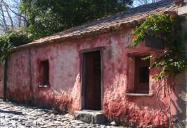 Maisons coloniales de Colonia, en Uruguay