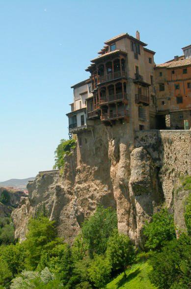 Maisons perchées, à Cuenca