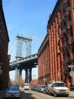 Le pont de Manhattan, vu de Brooklyn