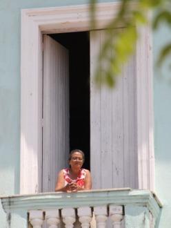 Dans la ville de Cienfuegos, à Cuba