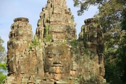 Le temple de Bayon, sur le site d'Angkor Thom