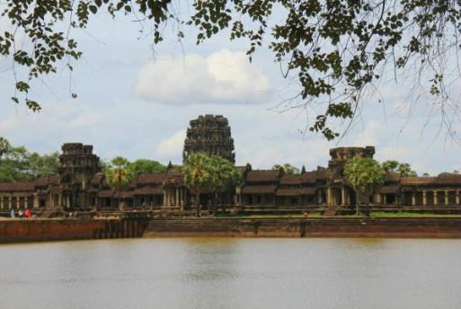 temples d'Angkor Vat, à Siem Reap