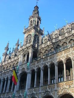La Maison du roi, sur la Grande Place à Bruxelles.
