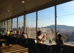 restaurant du grand magasin El Corte Inglès, à Barcelone