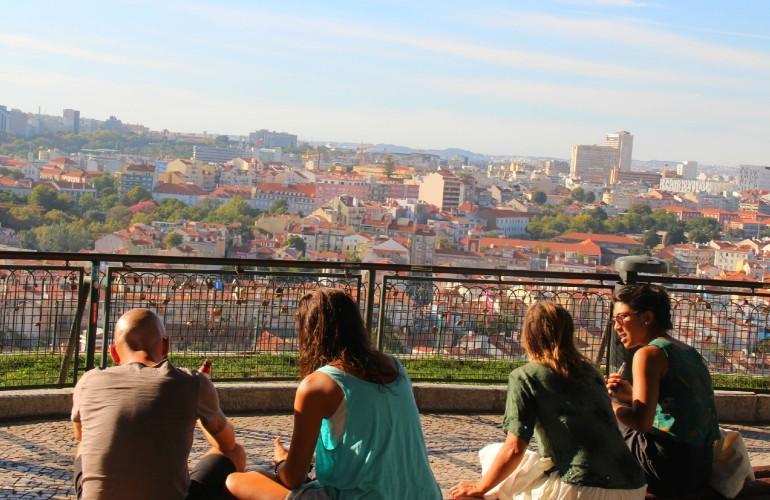 Mirador Senhora do Monte, Lisbonne