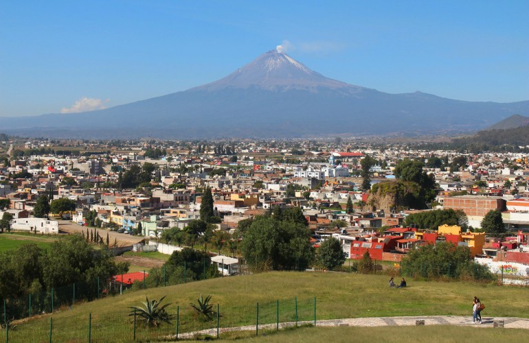 Cholula, au Mexique.