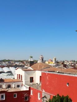 Vue du quartier historique, à Puebla