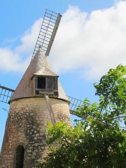 moulin de la distillerie Bellevue, Marie-Galante