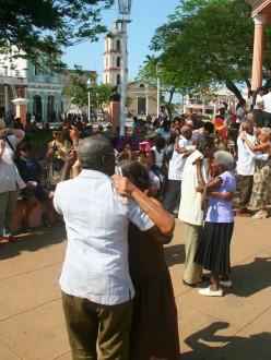 Danseurs à Remedios, Cuba