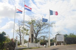 La frontière sur Saint-Martin