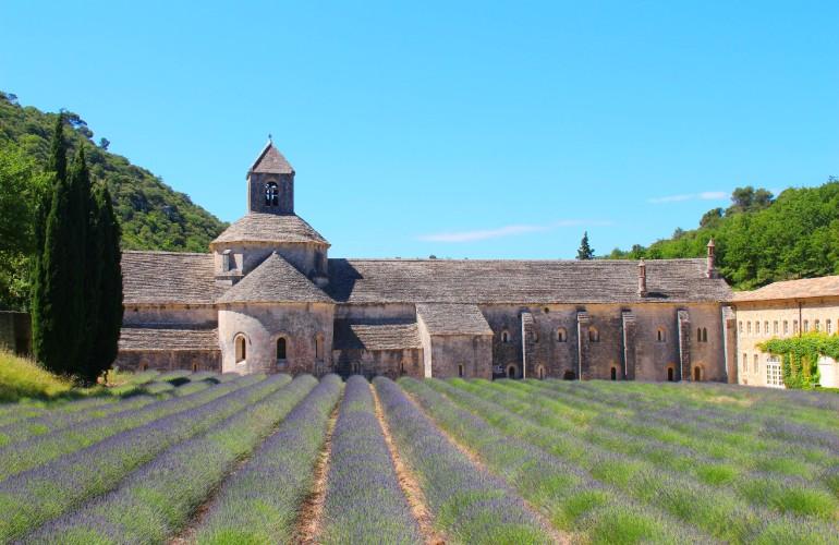 L'Abbaye de Sénanque, en Provence.