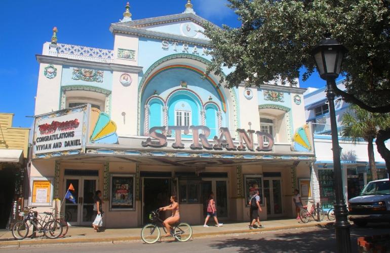 Art déco sur la rue Duval, Key West