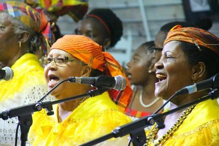Les Chantés Nwoël, en Guadeloupe.