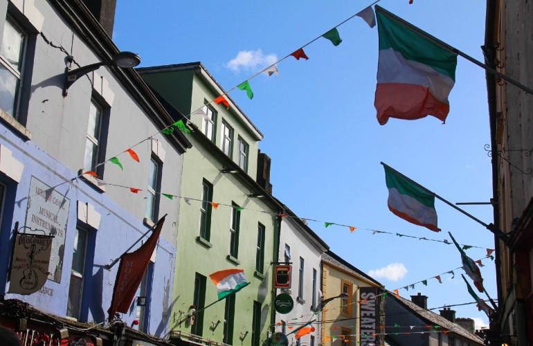 Galway, une ville très festive en Irlande.