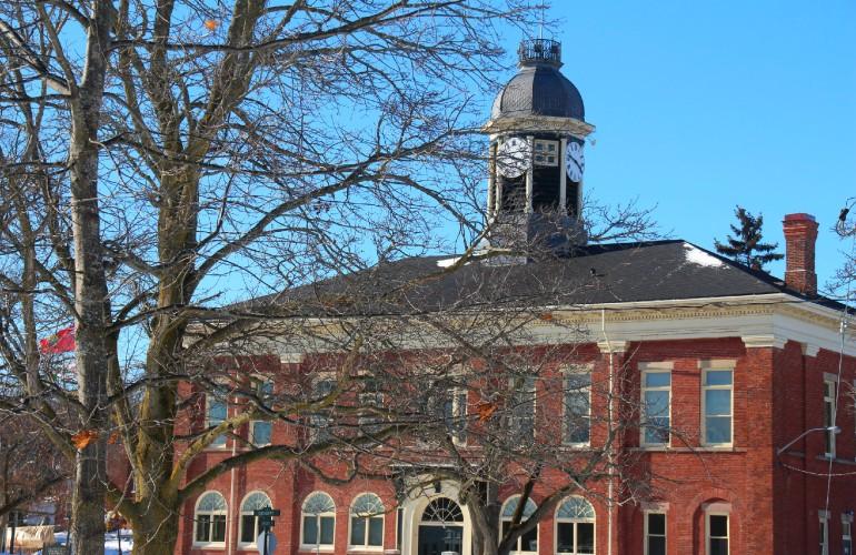 Hôtel de ville de Port Hope, Ontario