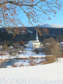 le village de Stowe, au Vermont.