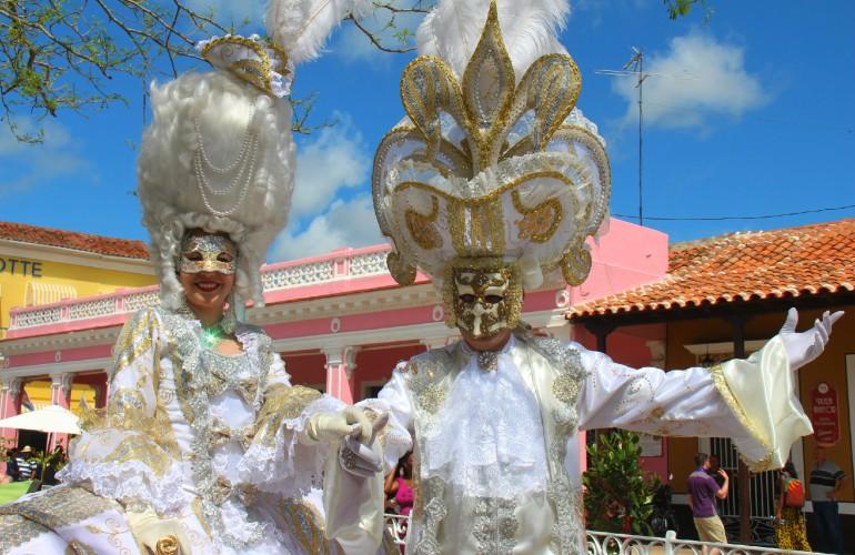 Costumes des Parrandas de Remedios, à Cuba