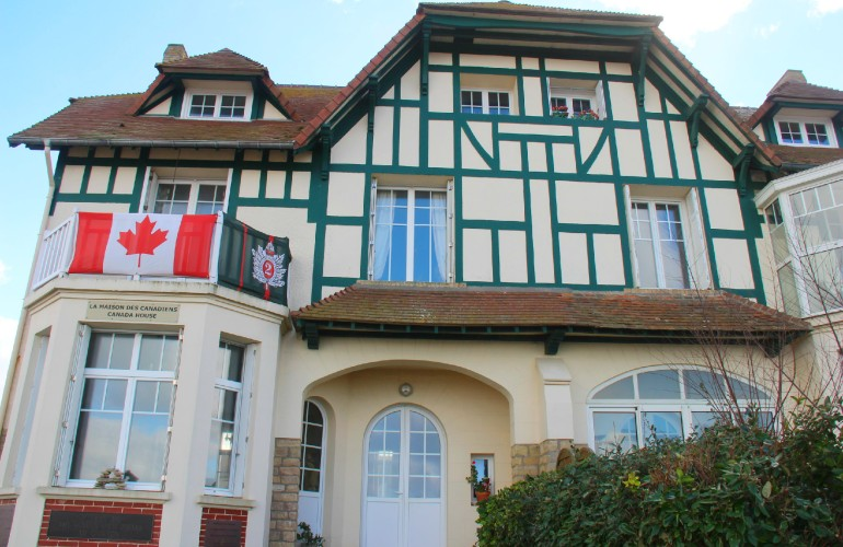 Maison des Canadiens, Bernières-sur-mer
