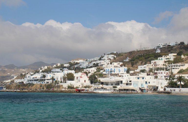 La ville de Chora, Mykonos