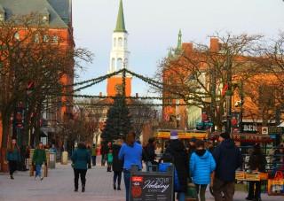 rue Church, à Burlington