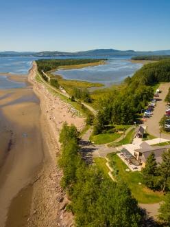 Parc national de Forillon, en Gaspésie (Québec)