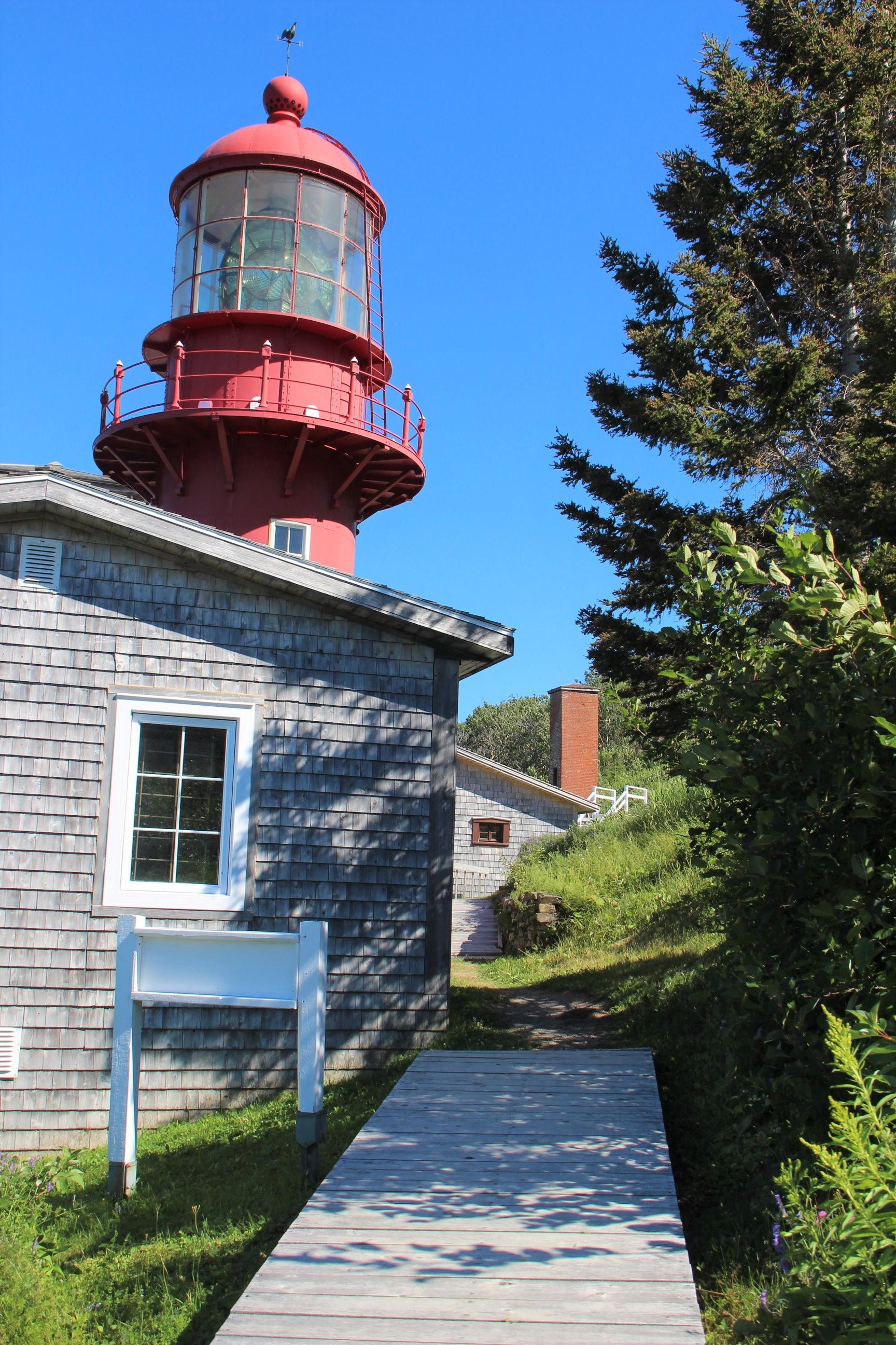 Phare de la Pointe-à-la-Renommée, en Gaspésie.