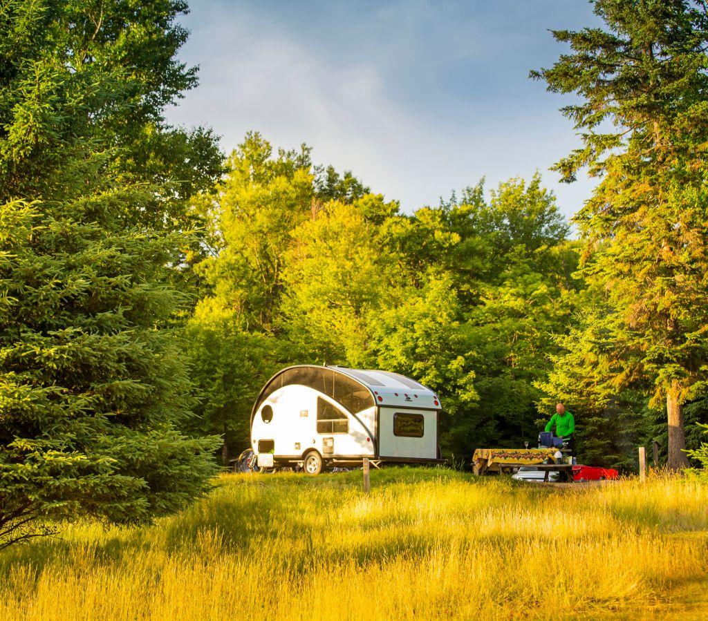 Camping au Parc national du Mont-Tremblant
