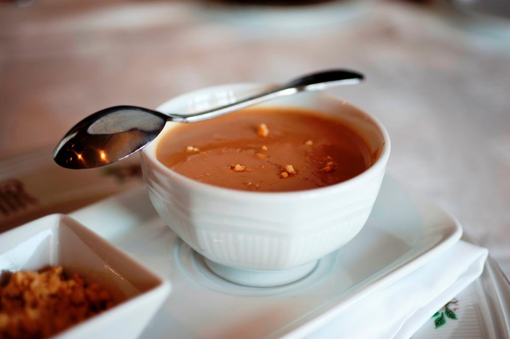 Peanut soup Hotel Roanoke